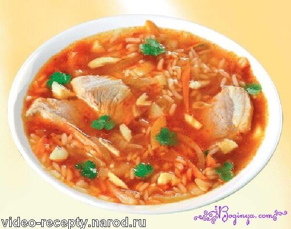 Суп харчо с орехами: говядину 500 г. тщательно промыть и разрезать на